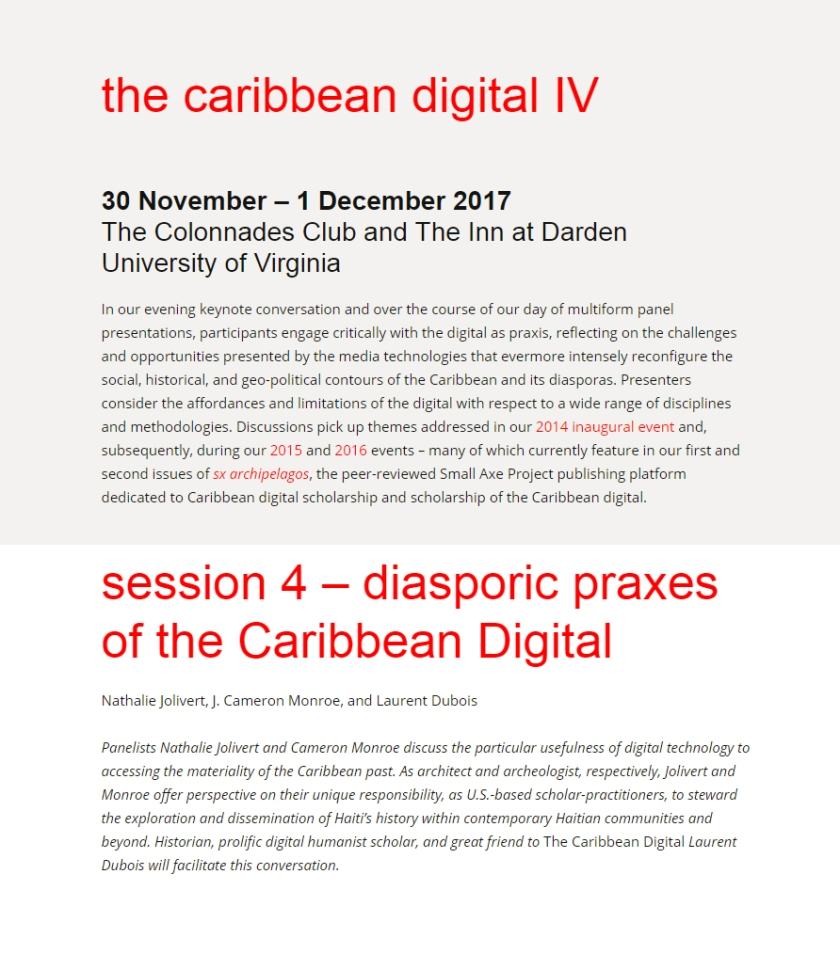 The Caribbean Digital IV 2017