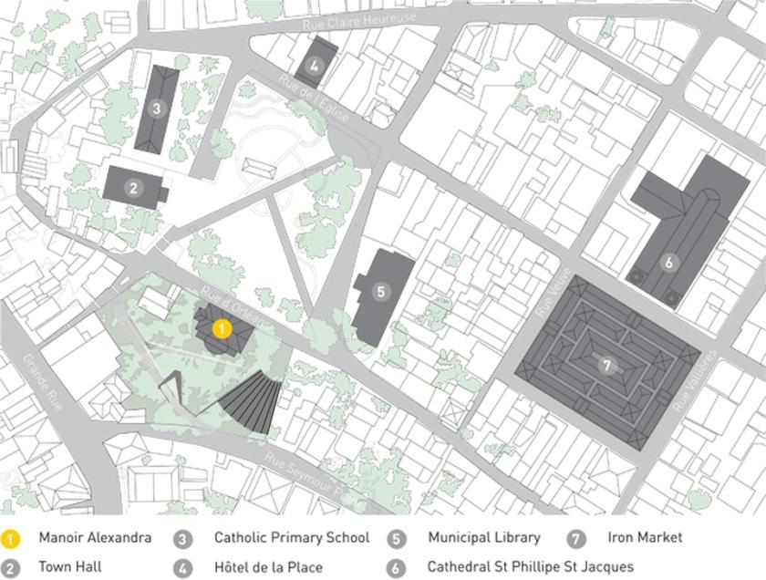 Jacmel Map-11x17_ManoirAlexandra